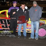 Brown wins modified, it&#039;s Murty again in stocks