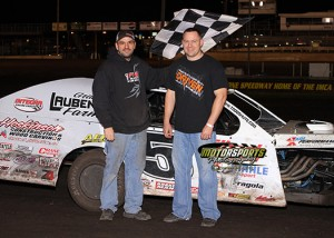 Todd Shute in Victory Lane