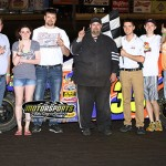 Bushore and Smith win going away, Egeland gets first career victory