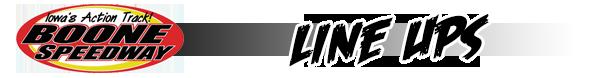 Lineup-header