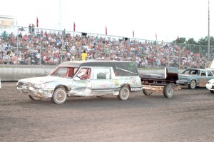 Hearse trailer race