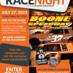 Zylstra Race Night: July 27, 2013