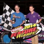 Make up features plus full show at Boone Speedway