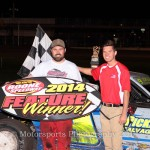 Logue, Kates, Gifford, Watson and Brown go to victory lane