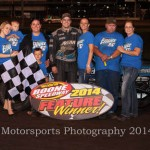 Elliott takes first Modified win