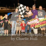 Gustin, Smith and Anderson take late race wins