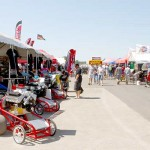 Manufacturers' Row filled to capacity at Super Nationals