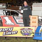Hoffman heads middle row for Saturday's SportMod main event