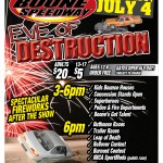 EVE OF DESTRUCTION - 4TH OF JULY EXTRAVAGANZA