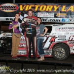Brown takes Modified victory